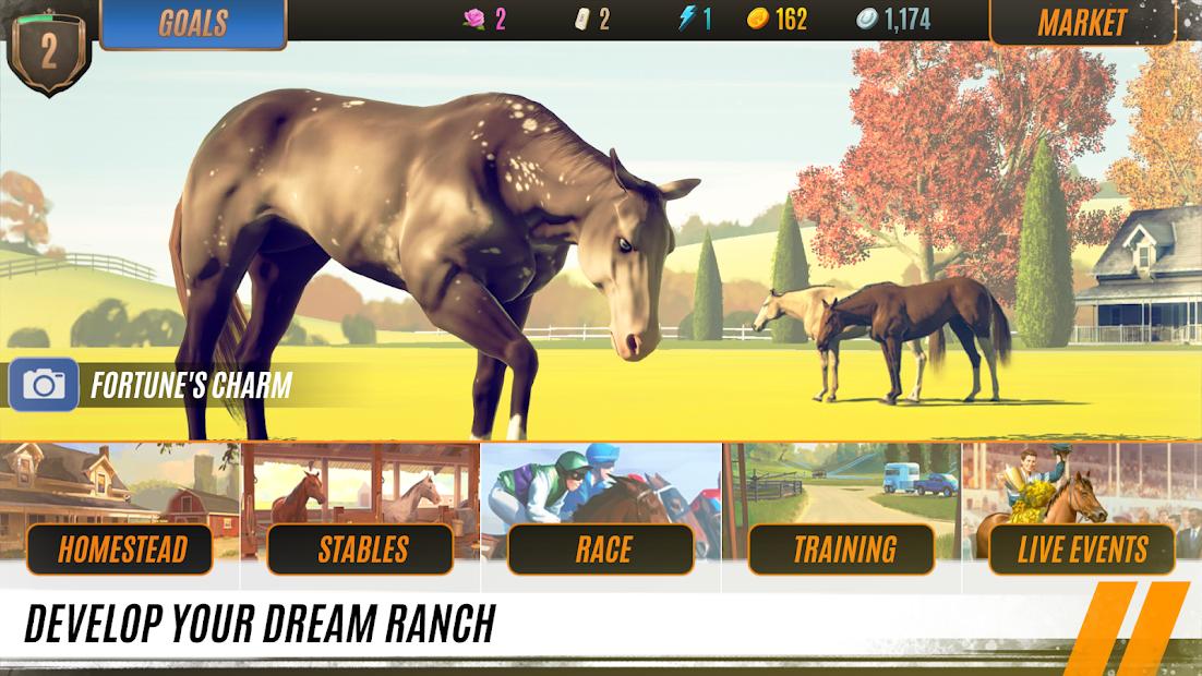 Rival Stars Horse Racing Android App Screenshot