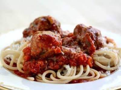 Terrific Spaghetti And Meatballs Recipe