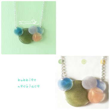 bubbles necklace(sold)