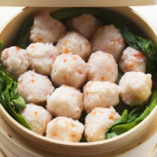 Steamed Chinese Shrimp.