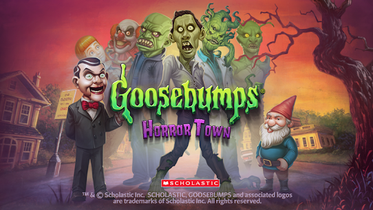 Goosebumps HorrorTown – The Scariest Monster City!  Apk Download For Android and Iphone 8