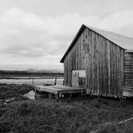 Abandoned  by Todd Reynolds - Black & White Buildings & Architecture