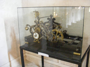 Photo: Preserved in the church is the 19th century clockworks.