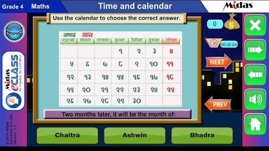MiDas eCLASS Maths 4 Demo screenshot 15