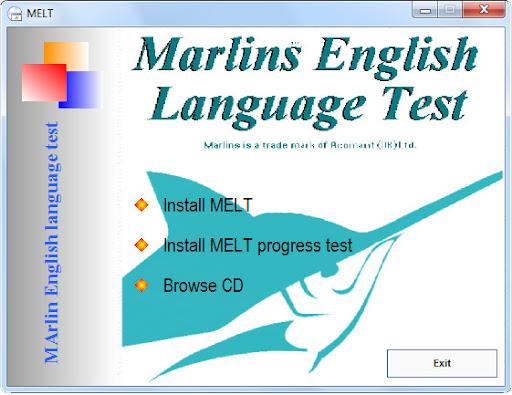 Marlins English Language Test MELT1