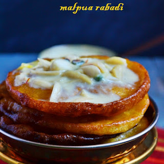 Malpua Rabdi Recipe, How To Make Malpua