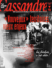 Photo: © Olivier Perrot couverture Cassandre 46 www.horschamp.org