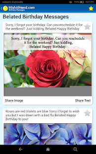 Birthday Cards & Messages- screenshot thumbnail