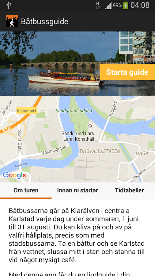 Karlstadsguide- screenshot