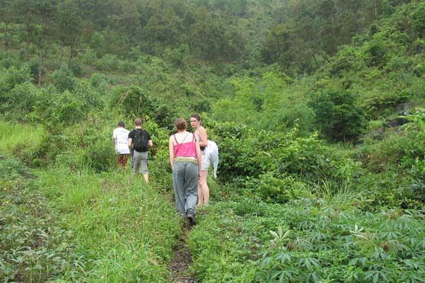 Hiking in Cat Ba