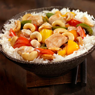 Savory Thai Cashew Chicken.