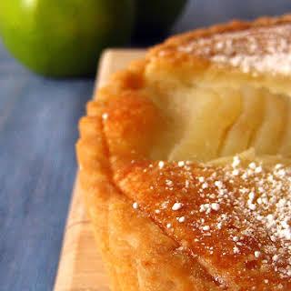Pear and Almond Frangipane Tart.