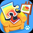 宝宝拼图:家居 - 熊大叔儿童教育游戏 icon