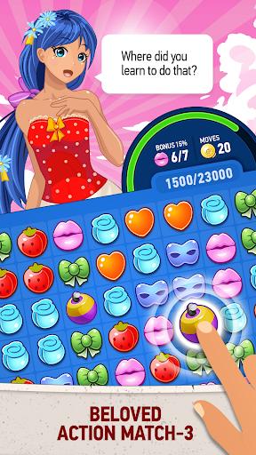 Waifu Puzzle: Dating Simulator 3.1.8 screenshots 1