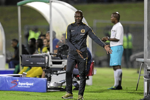 Patrick Mabedi was in charge of Chiefs in their 3-1 loss to Golden Arrows in the Absa Premiership match on Tuesday night.