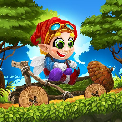 Fun Kid Racing Magic Forest