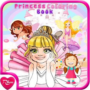 Princess Coloring Book for PC and MAC