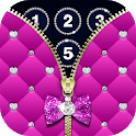 Diamond Zipper Lock Screen icon