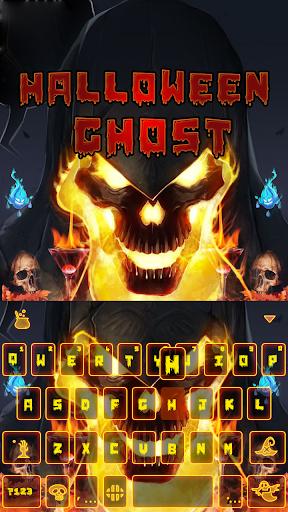 Halloween Ghost Keyboard Theme
