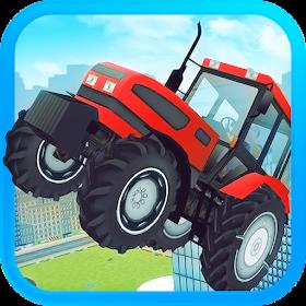 Трактор Farm трюком Drive 2016