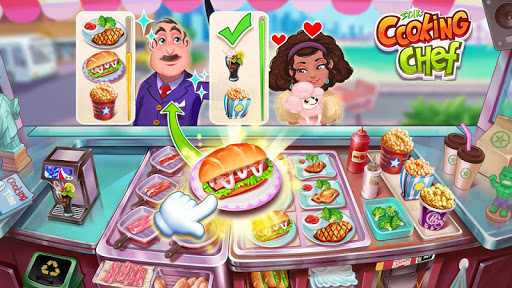 Star Cooking Chef - Foodie Madnessud83cudf73 2.9.5009 screenshots 1
