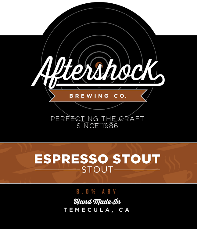 Logo of Aftershock Espresso Stout