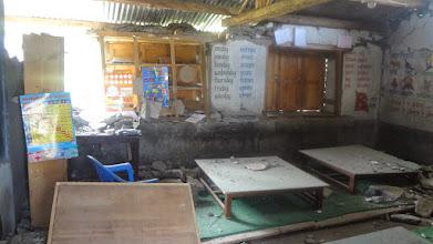 Photo: The children's library at Taltuleswori Primary School.