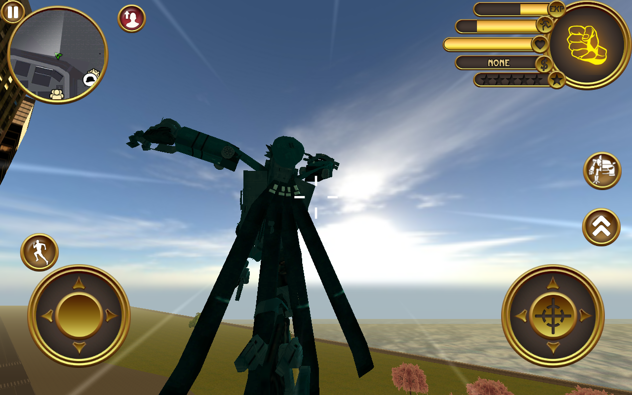 Robot Helicopter- screenshot