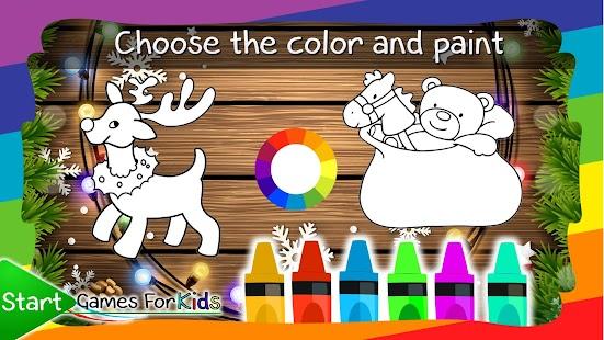 Christmas Coloring Book Game Screenshot Thumbnail