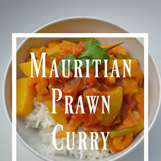 Mauritian Prawn Curry.