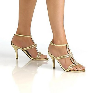 Alana+open+toe+gold+prom+shoes