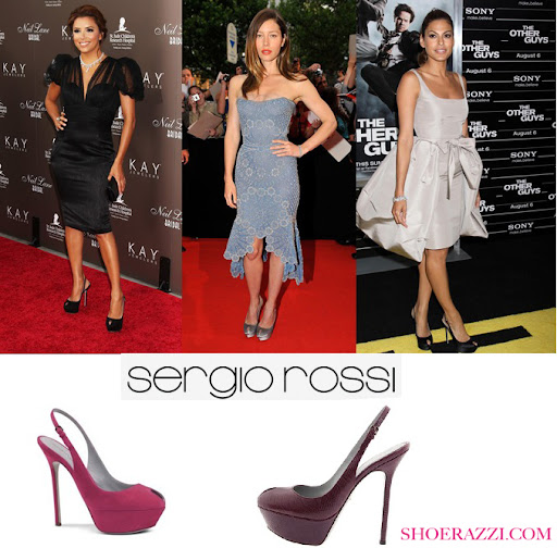 Celebrity Style | Celebrity's Shoes | Sergio Rossi