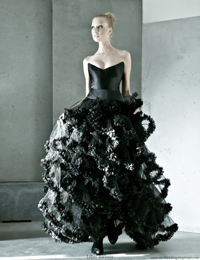 hottest_black_wedding_gown