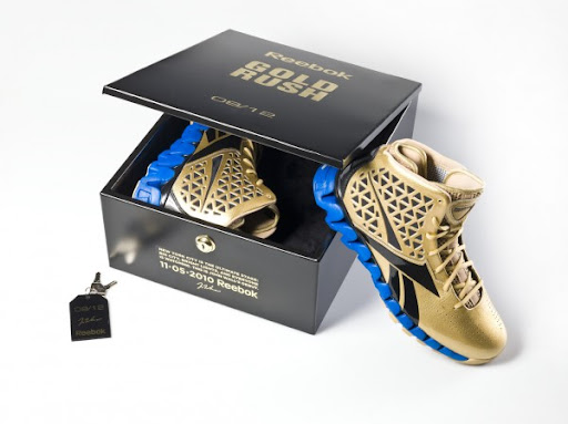 Gold Rush John Wall Shoe