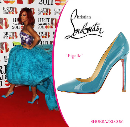 Celebrity Shoes, Christian Louboutin Pigalle