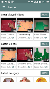 Blouse Cutting and Stitching Video/ Blouse cutting - náhled