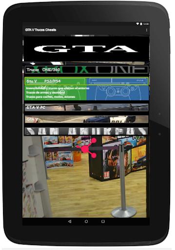 Trucos Cheats para GTA5 2.0 screenshots 12