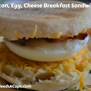 Make Ahead and Freeze Breakfast Sandwiches