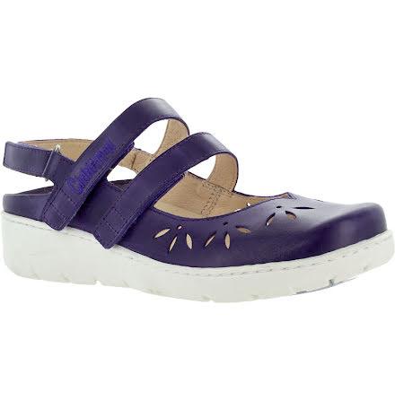 Klara lila sandalballerina