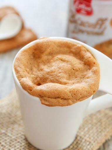 Cookie Butter Mug Cake