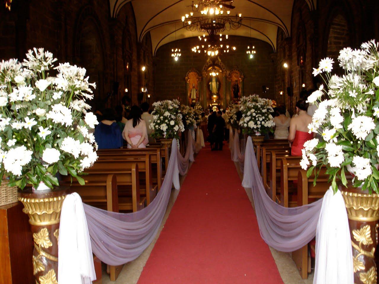 Marva's Blog: Church Wedding Decor