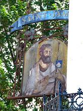 Photo: Pub sign, St James, not St Jam!