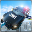 Flying Police Car Chase 2020 icon