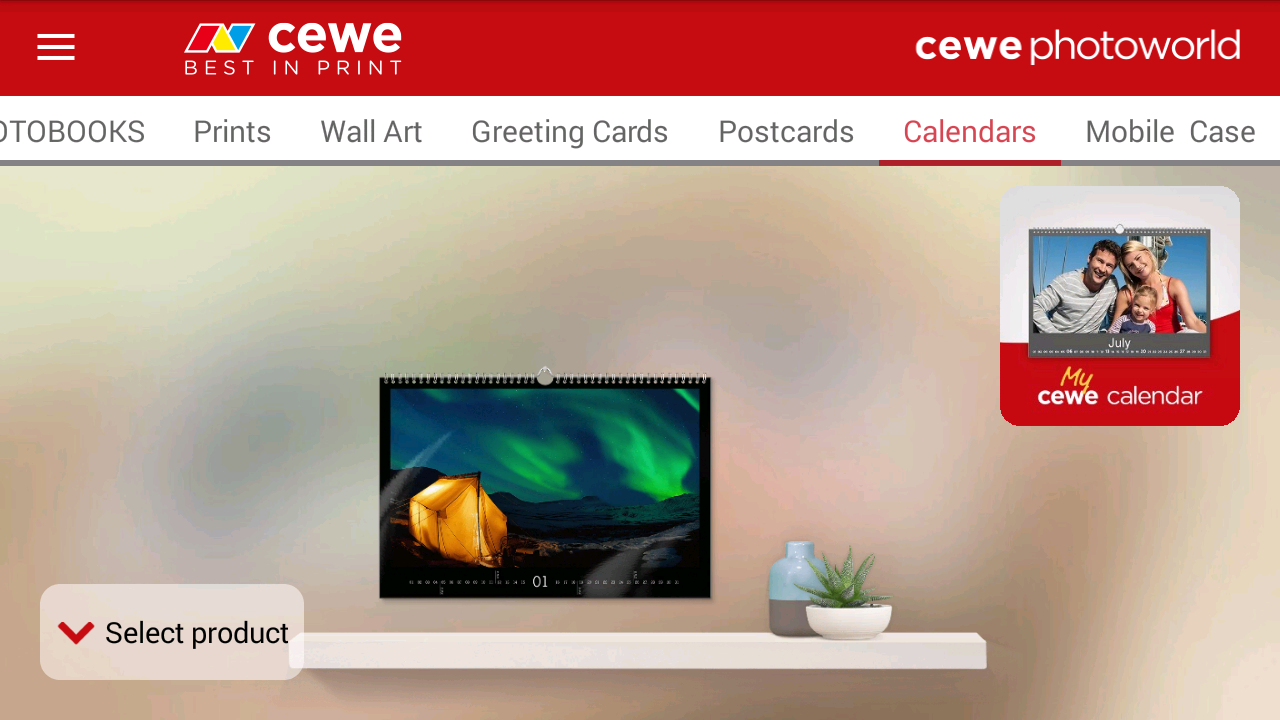 cewe photoworld- screenshot