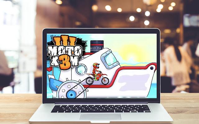 MOTO X3M HD Wallpapers Game Theme