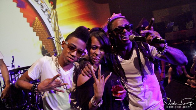 Foto do Tunechim Shannel & Twist na festa