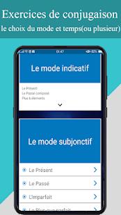 Download conjugueur-exercices conjugaison française For PC Windows and Mac apk screenshot 8