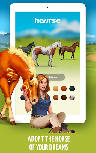 Howrse - free horse breeding farm game 4.0.5 screenshots 15