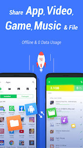InShare – Share Apps & File Transfer Pro Apk (Pro Features Unlocked) 1