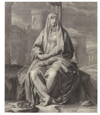 Els poetes valencians celebraran la velada en honor de la seua patrona, la Mare de Deu dels Dolors